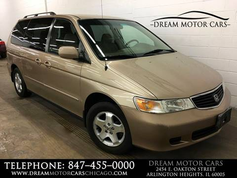 2001 Honda Odyssey for sale at Dream Motor Cars in Arlington Heights IL