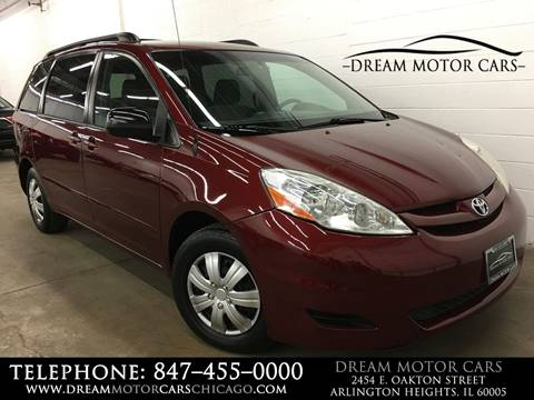 2009 Toyota Sienna For Sale At Dream Motor Cars In Arlington Heights IL