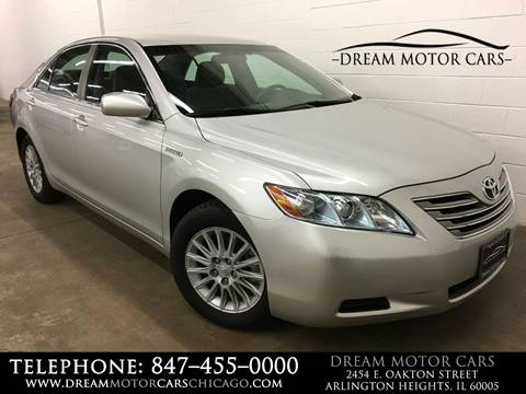 2008 Toyota Camry Hybrid for sale at Dream Motor Cars in Arlington Heights IL