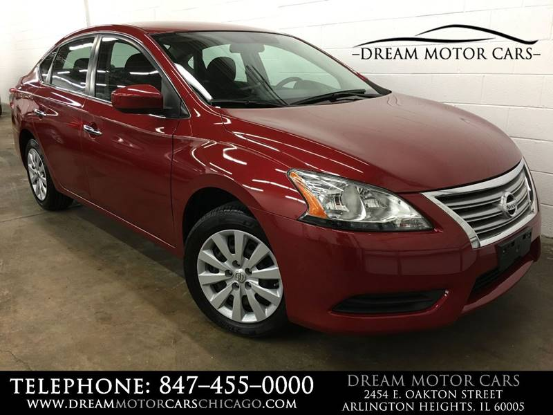 2014 Nissan Sentra For Sale At Dream Motor Cars In Arlington Heights IL