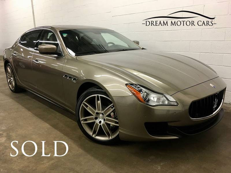 2015 Maserati Quattroporte for sale at Dream Motor Cars in Arlington Heights IL