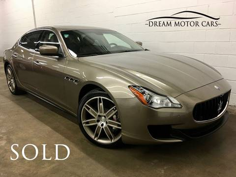 2015 Maserati Quattroporte for sale at Dream Motor Cars in Arlington Heights IL
