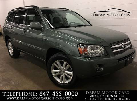 2007 Toyota Highlander Hybrid for sale at Dream Motor Cars in Arlington Heights IL