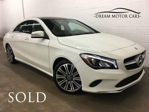 2018 Mercedes-Benz CLA for sale at Dream Motor Cars in Arlington Heights IL