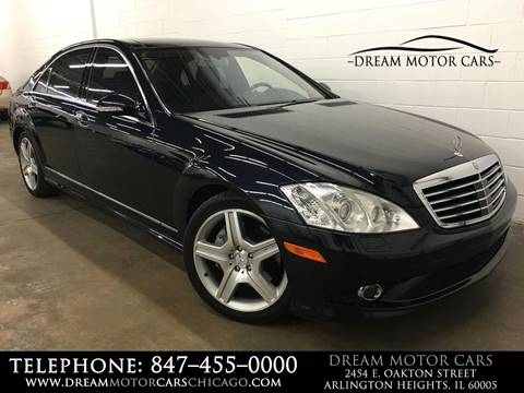 2008 Mercedes-Benz S-Class for sale at Dream Motor Cars in Arlington Heights IL