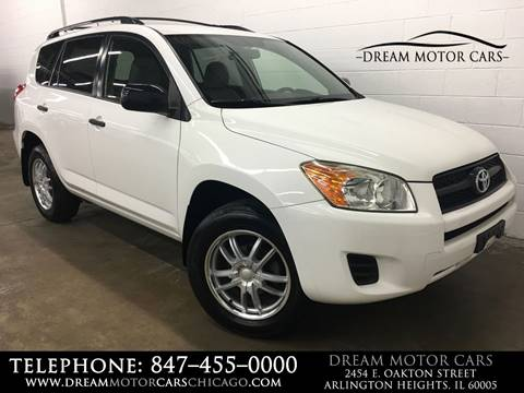 2010 Toyota RAV4 for sale at Dream Motor Cars in Arlington Heights IL