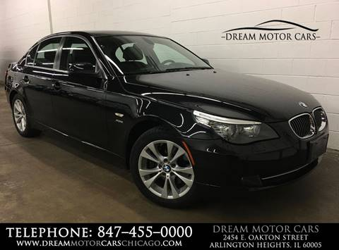 2010 BMW 5 Series for sale at Dream Motor Cars in Arlington Heights IL
