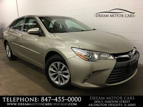 2015 Toyota Camry for sale at Dream Motor Cars in Arlington Heights IL