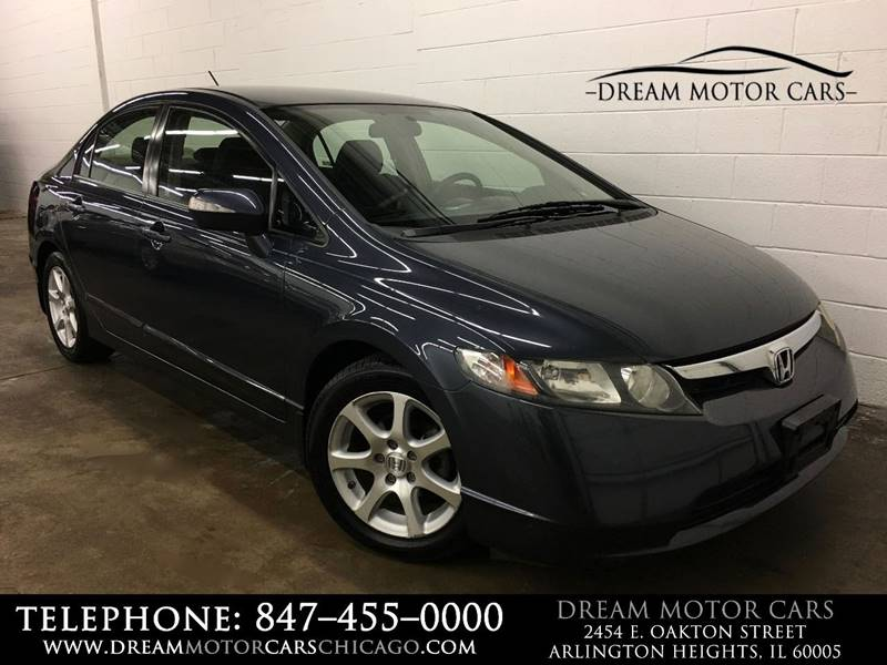 2008 Honda Civic For Sale At Dream Motor Cars In Arlington Heights IL