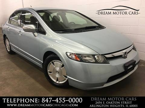 2007 Honda Civic for sale at Dream Motor Cars in Arlington Heights IL