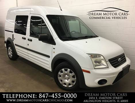 2012 Ford Transit Connect for sale at Dream Motor Cars in Arlington Heights IL
