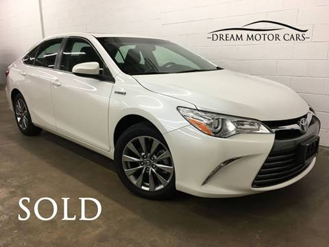 2017 Toyota Camry Hybrid for sale at Dream Motor Cars in Arlington Heights IL