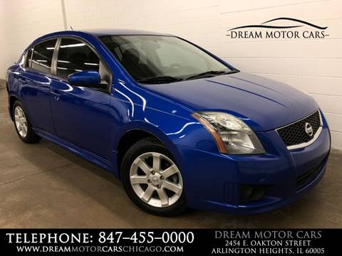 2010 Nissan Sentra for sale at Dream Motor Cars in Arlington Heights IL