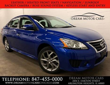 2015 Nissan Sentra for sale at Dream Motor Cars in Arlington Heights IL