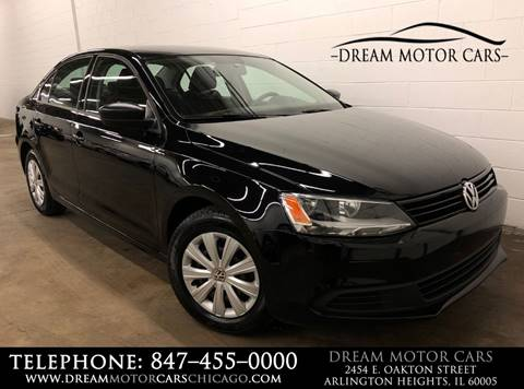 2014 Volkswagen Jetta for sale at Dream Motor Cars in Arlington Heights IL