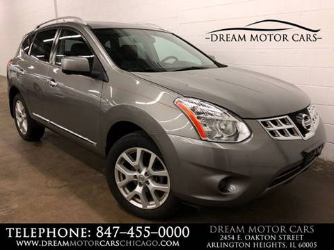 2012 Nissan Rogue for sale at Dream Motor Cars in Arlington Heights IL
