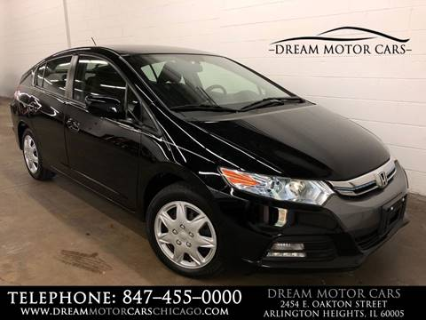 2012 Honda Insight for sale at Dream Motor Cars in Arlington Heights IL