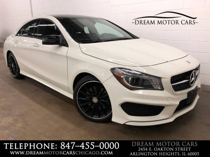 2016 Mercedes-Benz CLA for sale at Dream Motor Cars in Arlington Heights IL
