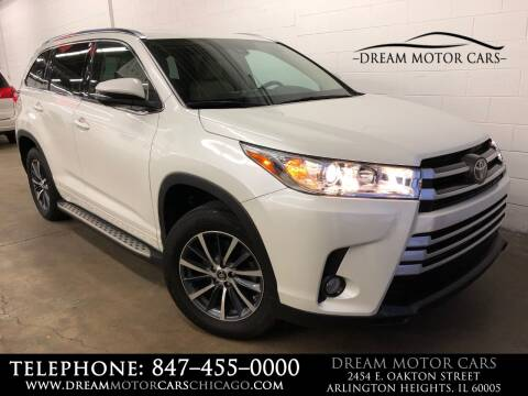 2018 Toyota Highlander for sale at Dream Motor Cars in Arlington Heights IL