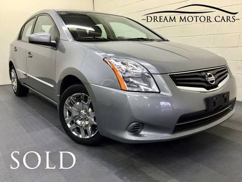 2012 Nissan Sentra for sale at Dream Motor Cars in Arlington Heights IL