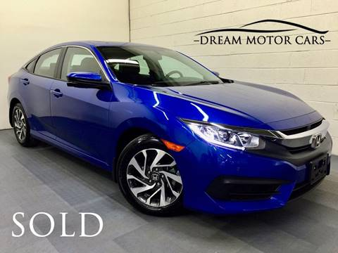 2016 Honda Civic for sale at Dream Motor Cars in Arlington Heights IL