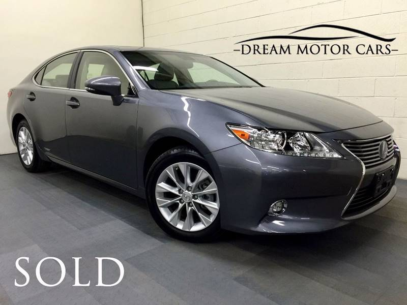2015 Lexus ES 300h for sale at Dream Motor Cars in Arlington Heights IL