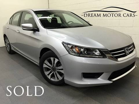 2013 Honda Accord for sale at Dream Motor Cars in Arlington Heights IL