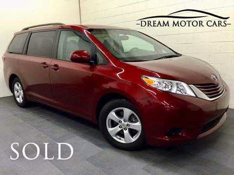 2015 Toyota Sienna for sale at Dream Motor Cars in Arlington Heights IL