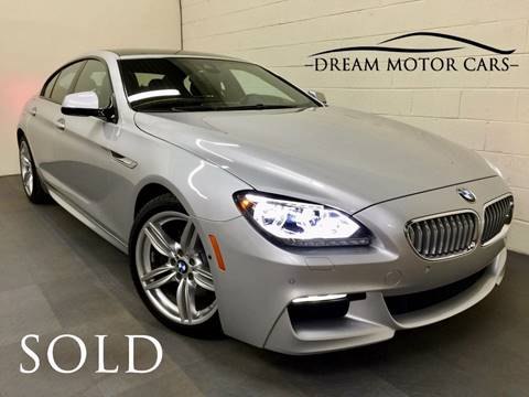 2014 BMW 6 Series for sale at Dream Motor Cars in Arlington Heights IL
