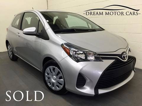 2015 Toyota Yaris for sale at Dream Motor Cars in Arlington Heights IL