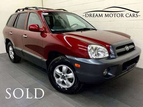 2005 Hyundai Santa Fe for sale at Dream Motor Cars in Arlington Heights IL