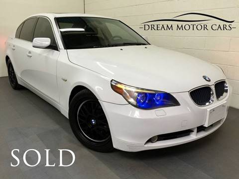 2005 BMW 5 Series for sale at Dream Motor Cars in Arlington Heights IL