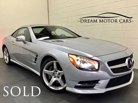 2014 Mercedes-Benz SL-Class for sale at Dream Motor Cars in Arlington Heights IL