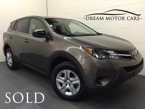 2015 Toyota RAV4 for sale at Dream Motor Cars in Arlington Heights IL