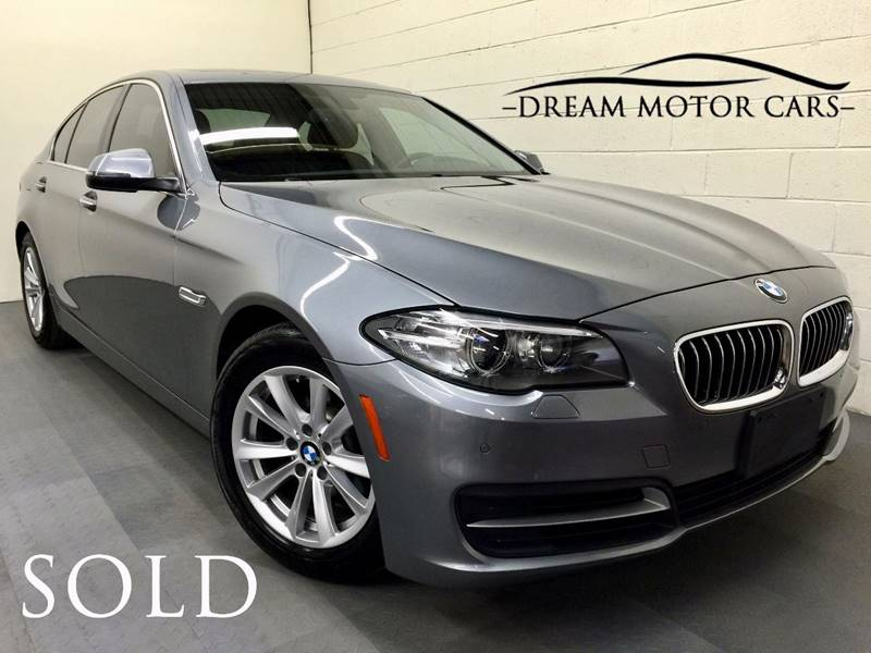 2014 BMW 5 Series for sale at Dream Motor Cars in Arlington Heights IL