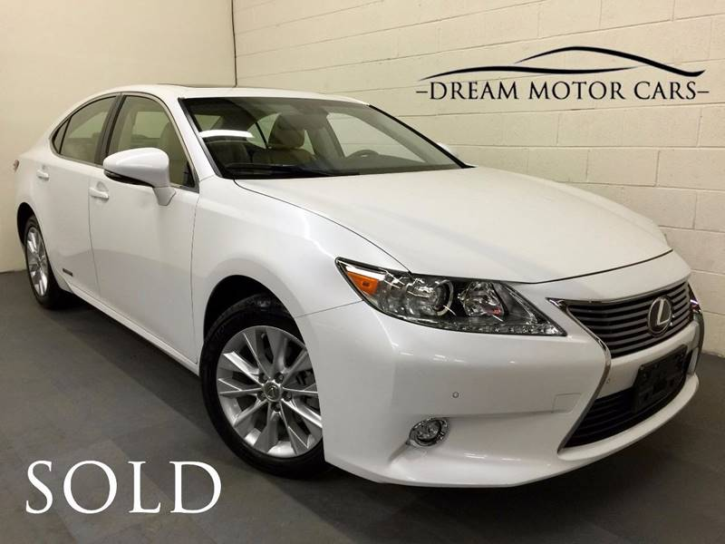 2014 Lexus ES 300h For Sale At Dream Motor Cars In Arlington Heights IL