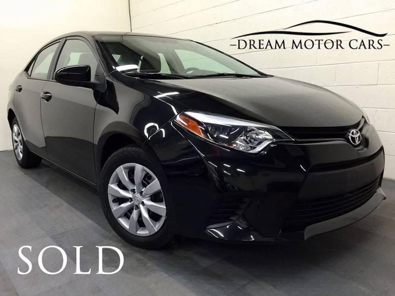 2014 Toyota Corolla For Sale >> 2014 Toyota Corolla Le In Arlington Heights Il Dream Motor Cars