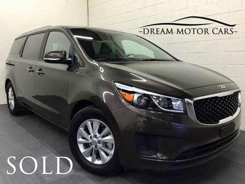 2016 Kia Sedona for sale at Dream Motor Cars in Arlington Heights IL