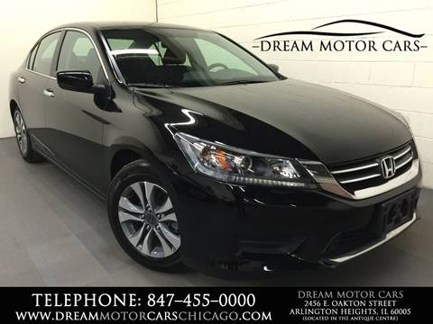 2014 Honda Accord for sale at Dream Motor Cars in Arlington Heights IL