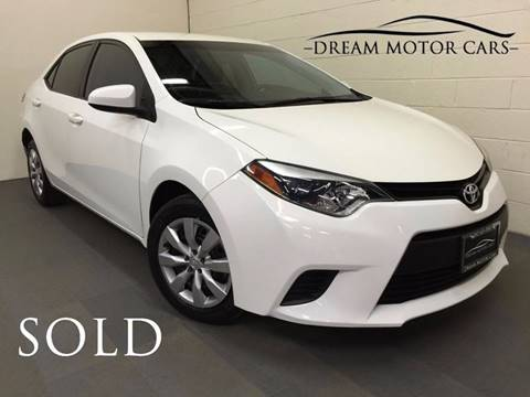 2014 Toyota Corolla for sale at Dream Motor Cars in Arlington Heights IL