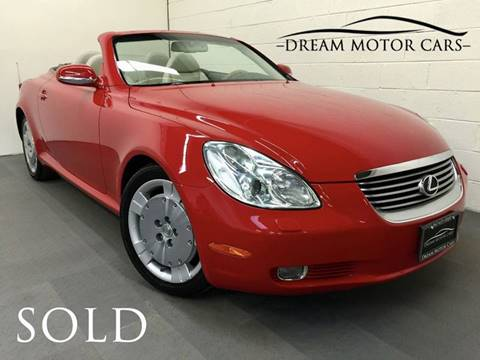 2004 Lexus SC 430 for sale at Dream Motor Cars in Arlington Heights IL