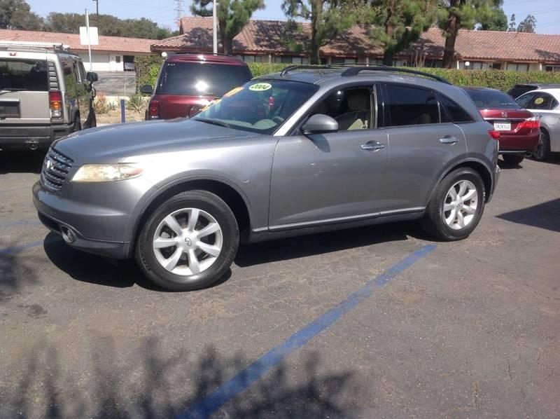 2004 infiniti fx35 in bellflower ca rv auto sales 2004 infiniti fx35 for sale at rv auto sales in bellflower ca sciox Images