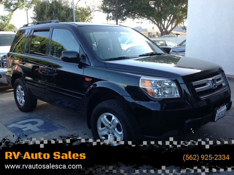 Beautiful 2008 Honda Pilot For Sale At RV Auto Sales In Southgate CA