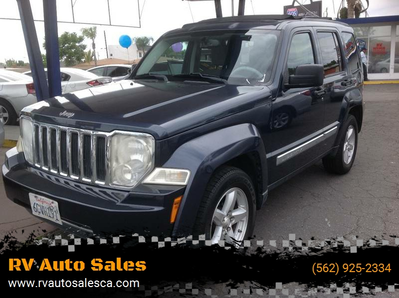 2008 Jeep Liberty For Sale At RV Auto Sales In Southgate CA