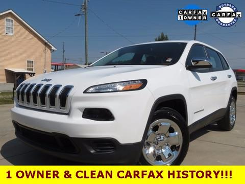 2016 Jeep Cherokee for sale in Gainesville, GA