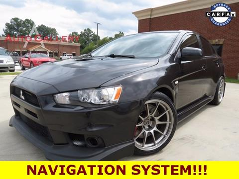 2010 Mitsubishi Lancer Evolution for sale in Gainesville, GA