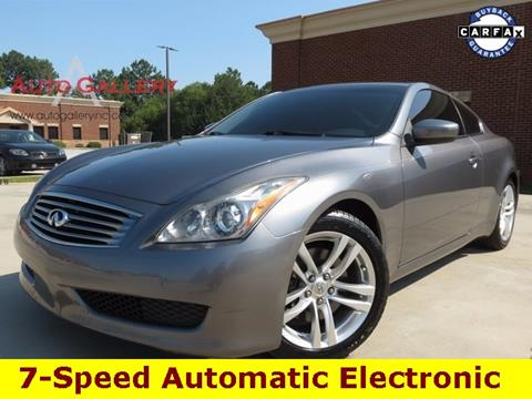 2010 Infiniti G37 Coupe for sale in Gainesville, GA