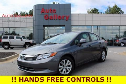 2012 Honda Civic for sale in Gainesville, GA