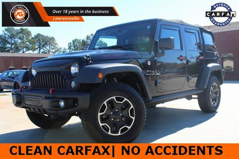 2014 Jeep Wrangler Unlimited for sale in Gainesville, GA
