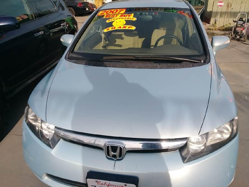2007 Honda Civic For Sale At Affordable Auto Finance In Modesto CA